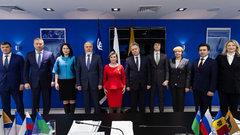 Глава Сургута встретился с делегацией из Молдавии