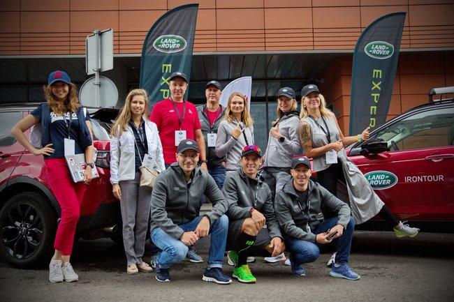 команда Land Rover Irontour