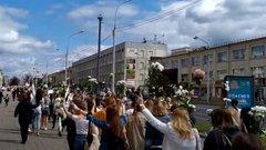 «Избранная президентка наносит ответный удар»: Тихановская записала новое видеообращение