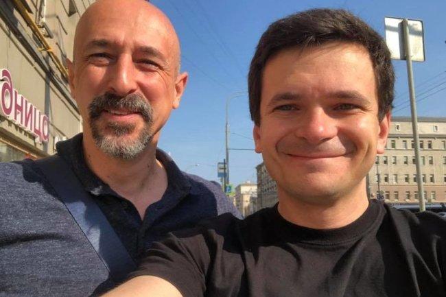 Магомет Яндиев и Илья Яшин