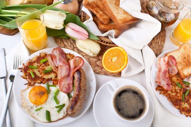 плотный завтрак