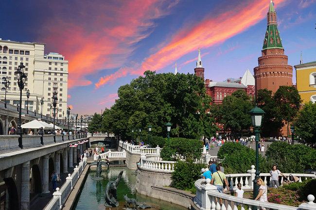 Вцентральной части Москвы стартовал 2-ой ежегодный мотопробег