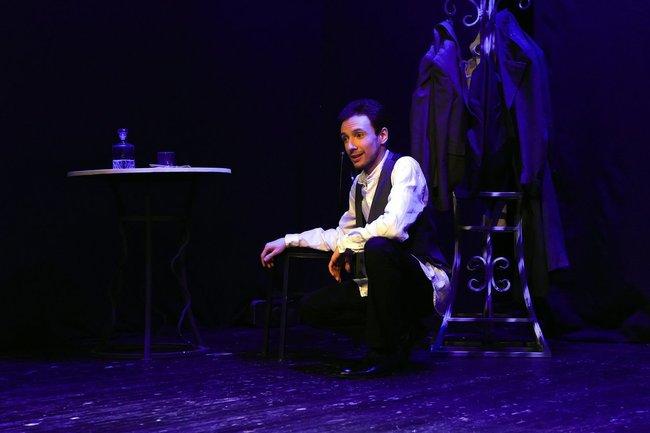 Артем Серов на III Всероссийском фестивале моноспектаклей «ЧАТ»