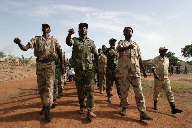 Мятежники на севере Центральноафриканской Республики