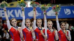 Российские гимнастки завоевали золото в командном первенстве на ЧЕ