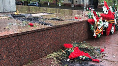 В Челябинске на мемориале совершен акт вандализма