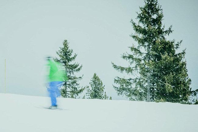 лыжня лыжи снег спорт