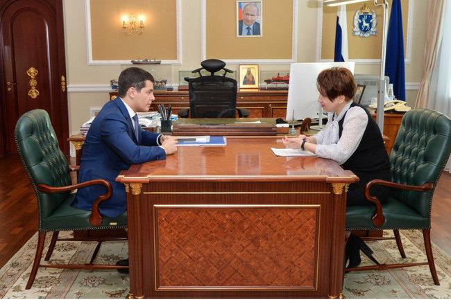 Дмитрий Артюхов и Светлана Гусева