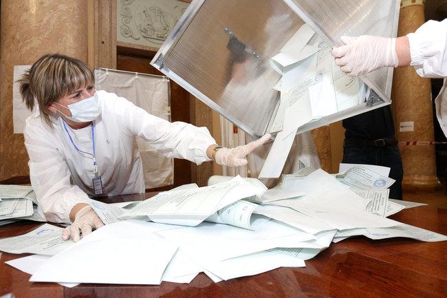голосование выборы бюллетень
