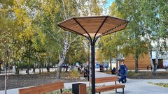 В Новосибирской области открыли Затулинский дисперсный парк