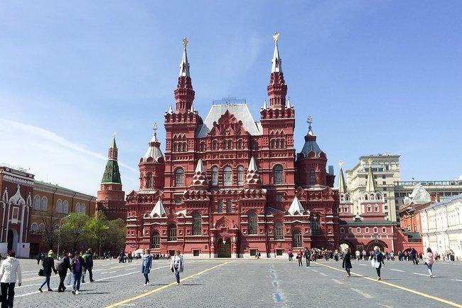 Кремль Красная площадь