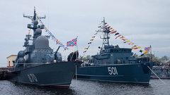 Балтийский флот защитит Петербург иКалининград вовремя ЧМ-2018
