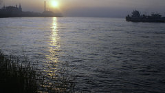 За разрушение острова на Ангаре задержан иркутский предприниматель