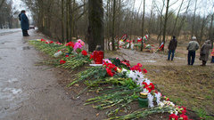 ВПольше заявили оследах взрывчатки наобломках борта Качиньского
