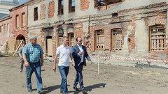 ВТуле продолжается реставрация музейного квартала