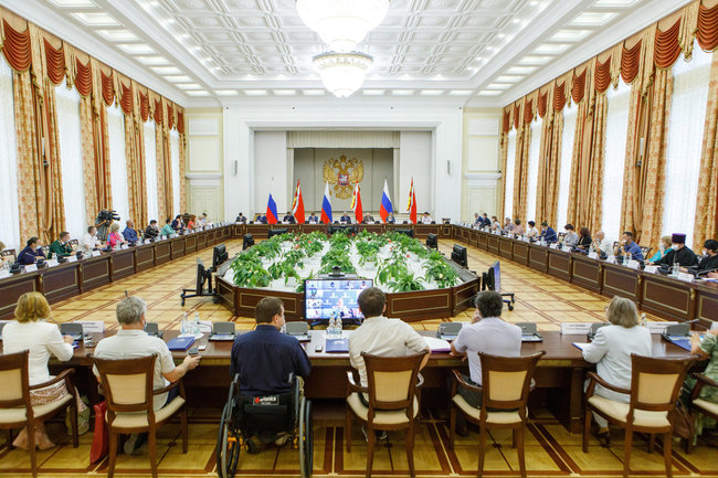 Заседание Общественной палаты Воронежской области