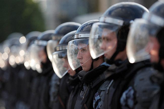 митинг протест полиция росгвардия
