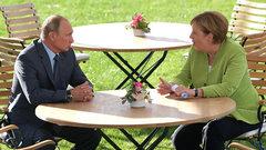 Встреча Путина и Меркель - сближение без конкретной стратегии - Розэ