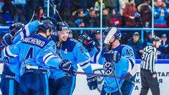 «Сибирь» победила «Амур» в матче КХЛ