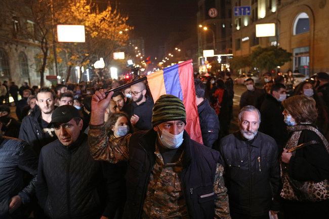 Армения Нагорный Карабах конфликт Ереван