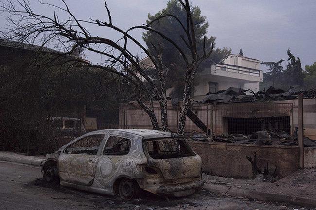 50погибших, 150пострадавших: Греция вогне