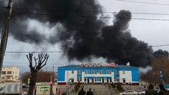 ВКрасноярске горит завод попроизводству «Сарматов»