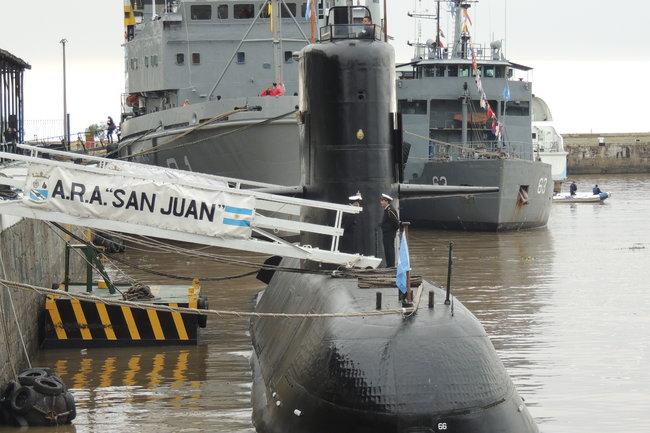 Взоне поиска аргентинской подлодки отыскали «акустическую аномалию»