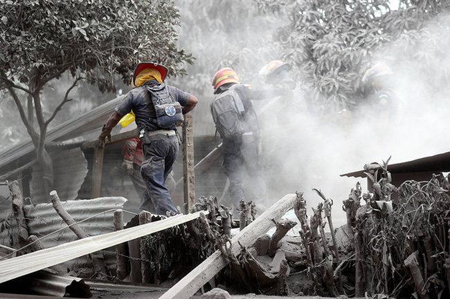 Извержение вулкана вГватемале стало сильнейшим за45 лет