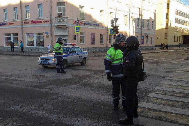 Архангельск взрыв