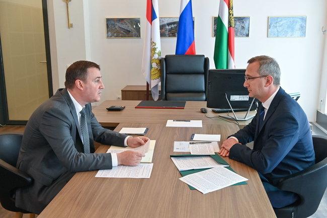 Владислав Шапша: мы признательны за поддержку Минсельхоза в развитии АПК Калужской области