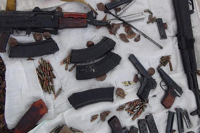 ФСБ иМВД изъяли в областях до150 единиц оружия