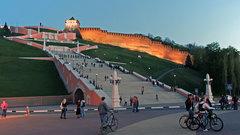 В Нижнем Новгороде восстанавливают Чкаловскую лестницу