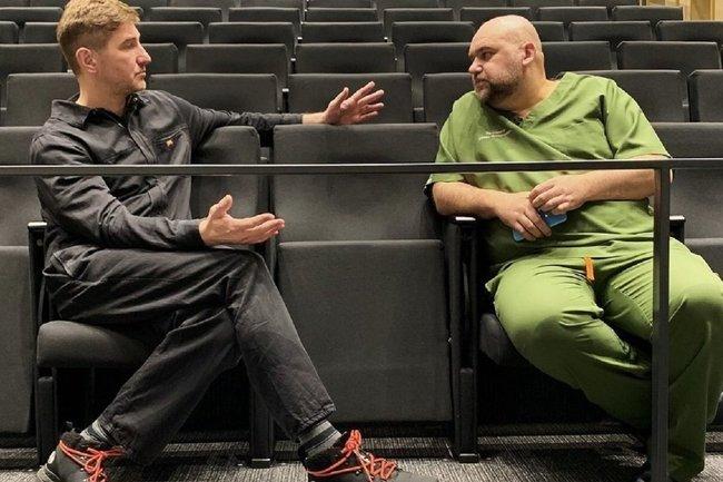 Антон Красовский (слева) и Денис Проценко