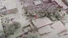 Последствия извержения вулкана вГватемале попали на видео