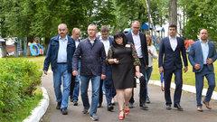 Владислав Шапша совершил рабочую поездку в Дзержинский район