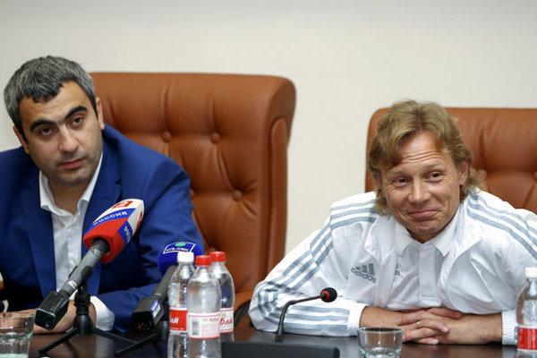 Валерий Оганесян (слева)