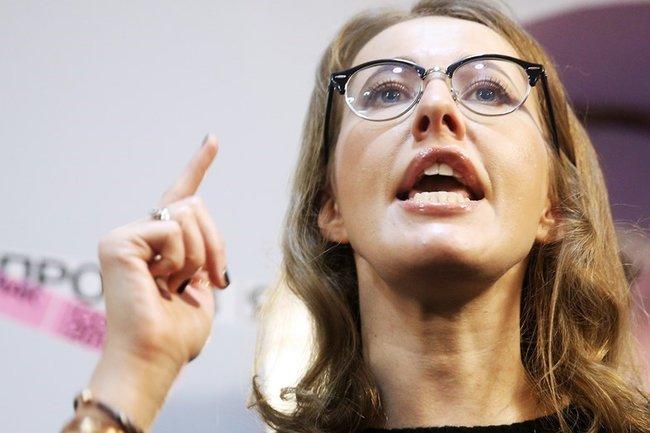 Говорят, Путин заплатил Собчак $2 млн за участие в предвыборной клоунаде