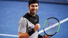 Российский теннисист Карен Хачанов выиграл турнир в Марселе