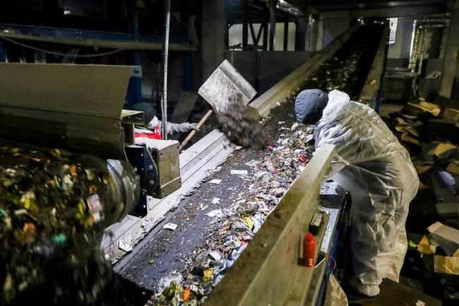 мусор переработка завод