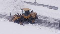 На Ямале продолжаются сильные снегопады, введен режим повышенной готовности