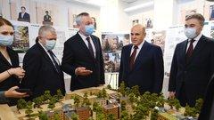 Губернатор Новосибирской области представил российскому премьеру потенциал региона