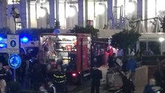 Болельщики ЦСКА в шоке от «гостеприимства» римской полиции во время инцидента с эскалатором