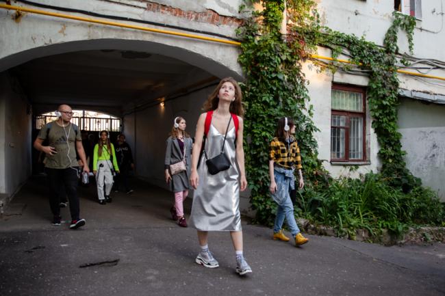 первый иммерсивный спектакль-экскурсия Invisible Moscow