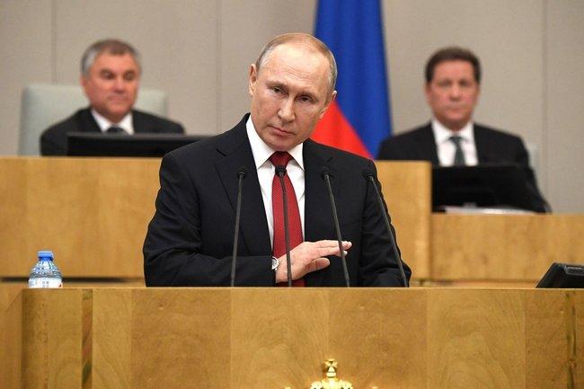 Владимир Путин/Госдума