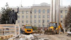 Стало известно, когда завершится благоустройство площади Победы в Туле