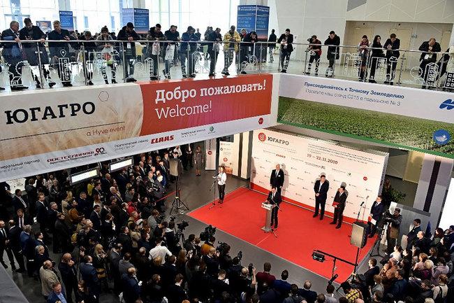 На выставку «ЮГАГРО» в Краснодар приехали представители 35 стран