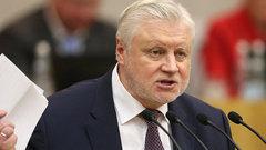 «Валаамова ослица заговорила»: Миронов обратился впрокуратуру иВС поделу «Сети»