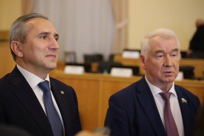 Александр Моор и Сергей Корепанов