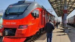Новый электропоезд запустили на пригородные маршруты Новосибирска