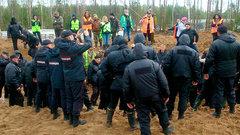 Новая стычка в Шиесе: ЧОП бьет активистов, полиция бездействует